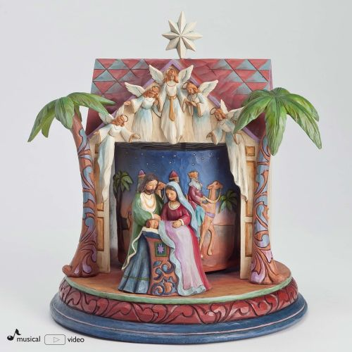 Jim Shore Rotating Nativity Masterpiece